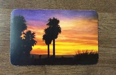 color Postcard, Sundown in the Southwest