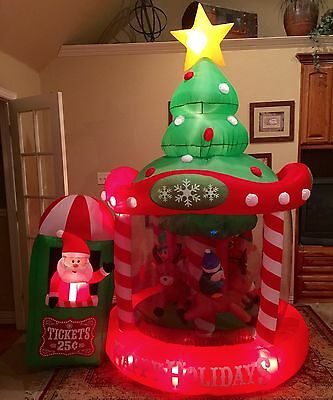 Prototype Prototype Christmas Carousel Inflatable Airblown