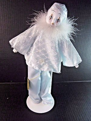 "Show Stoppers collectible Porcelain Doll Hand Made & Painted, 14"" Tall"