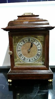 Oak Cased English Bracket Clock
