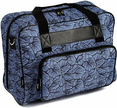 Kenley Padded Sewing Machine Tote Bag Carrying Case fits Singer Brother Janome