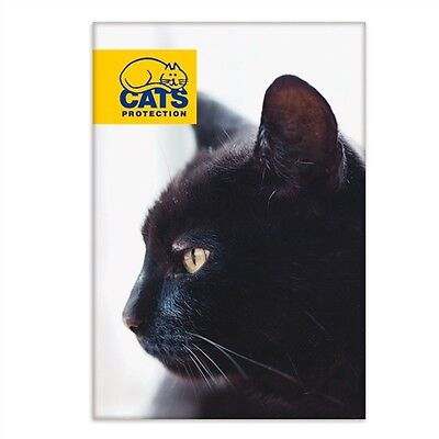 Cats Protection Magnet - Black Cat