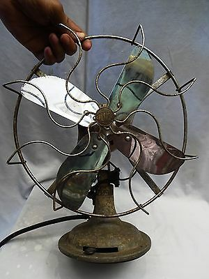 Antique Fan Limit Ocilliating Vintage Portable Electric Table Fan England Made