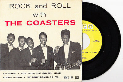 COASTERS Rock And Roll With The Coasters (ATCO) USA EP