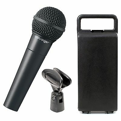 Behringer XM8500 Dynamic Vocal Microphone XLR  - With case and clip