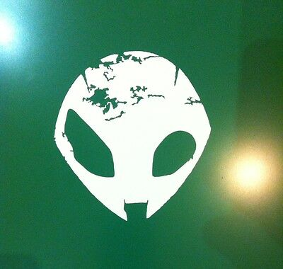 BMW S1000RR Alien Decal Sticker x2 Free Post all colours