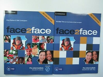 Face2Face Pre-Intermediate Student's Book  Second Edition With Cd-Rom Cambridge
