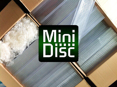 100x MiniDisc cases MD Mini Disk box (in compact disc style) I