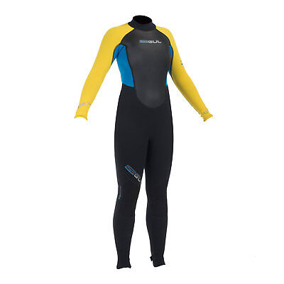 Gul Response 3/2mm Junior Wetsuit 2015 - Black/Yellow - Boys / Childrens