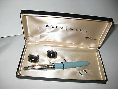 Watermans set with case, sold as pictured check my other pen listings