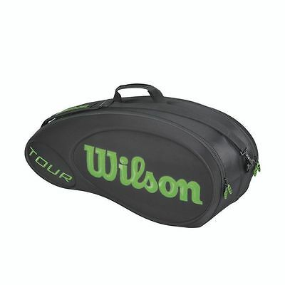*new* Wilson Tour 6 Pack Molded Bag - Authorized Seller