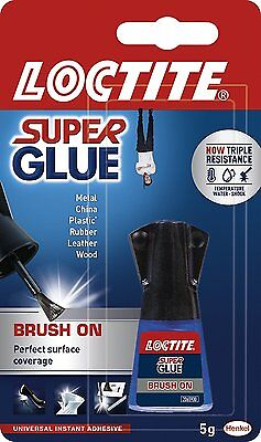 LOCTITE Super Glue Easy BRUSH ON Spreadable Applicator Water Resistant 5g