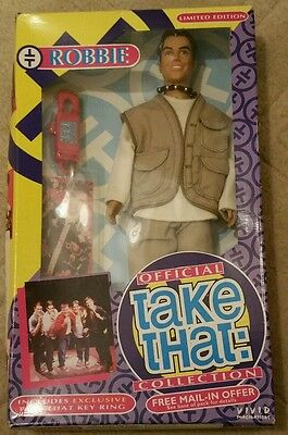Limited Edition Robbie WIlliams Take That Doll