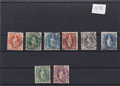 Switzerland 1882 Used  Stamps, Cat £125+ . Ref 1937
