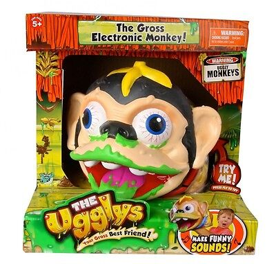 The Ugglys Monkey Electronic Pet NEW! from Toy Junction - Assorted