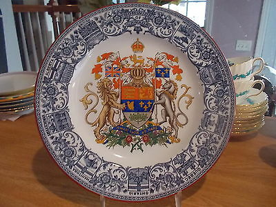 Dominion of Canada Coat of Arms Wedgwood Plate
