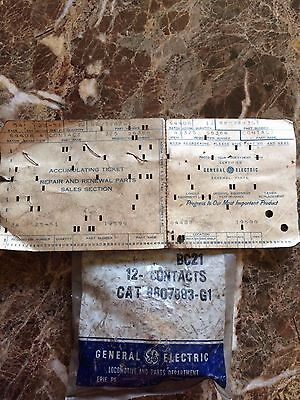 General Electric GE Contact Set of 12 #8807883-G1