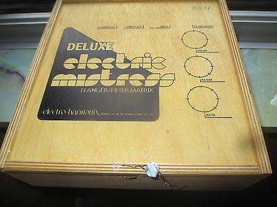 90's ELECTRO HARMONIX DELUXE ELECTRIC MISTRESS - made in USA - NEW OLD STOCK