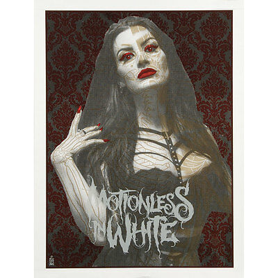 Motionless In White - Limited Screenprint