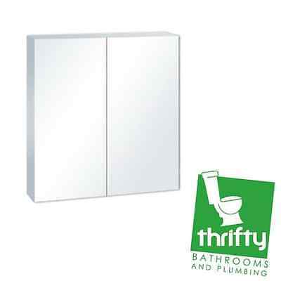 bevelled mirror cabinet 600mm bathroom accessories