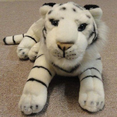 New Large White Tiger Cuddly Toy 65cm/25.5 inches long.