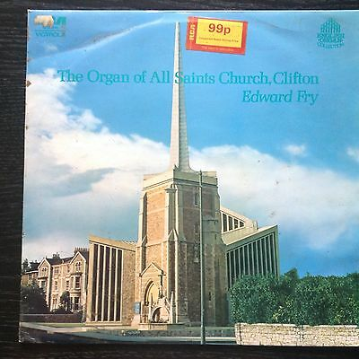 The Organ Of All Saint's Church Clifton Lp Fry Rca Vics 1645 Nm (1972) England