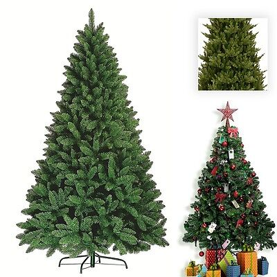 Luxurious Artificial Christmas Tree Natural Looking  With Metal Stand 6ft /8ft