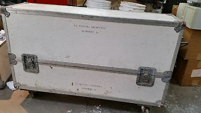 """Fender Rhodes 73 Key Keyboard Star ATA Case - 3/8"""" Ply With Casters"""