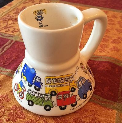 Vintage 80s Auto Car - Coffee Travel No Spill Mug - St. Paul Minnesota