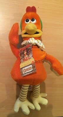 *bnwt* Ginger From Chicken Run The Film Plush Toy New With Tag Approx 9 Inches