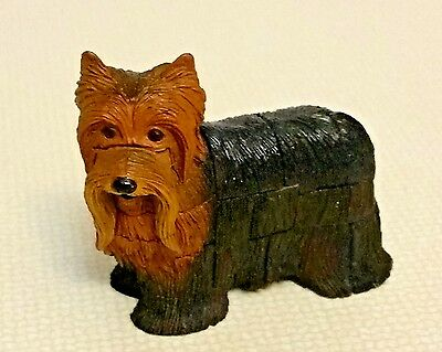 Yorkshire Terrier Dog, Yorkie Long Hair Small Toy 4D Master Puzzle Free Shipping