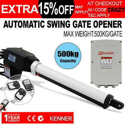 KENNER Actuator Automatic Motor Powered Remote Swing Gate Opener Operator Right