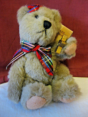 Russ Berrie Bears From the Past Plush Christmas Star NWT