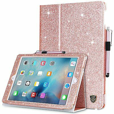 BENTOBEN Auto Wake/Sleep Luxury Leather Flip Stand Case for iPad 9.7 / Air /Mini