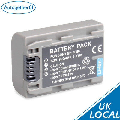 Hot sell Battery FOR Sony NP-FP50 HandyCam DCR-DVD92E Camcorder UK local
