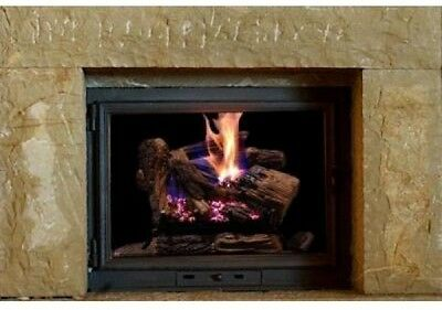 New Emberglow Burnt River Insert Heater Vented Dual Burner Natural Gas Fireplace