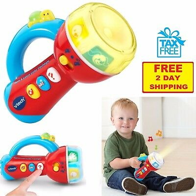 Vtech Toddler Learning Toy Color Flashlight Game Development Play Baby Xmas Gift