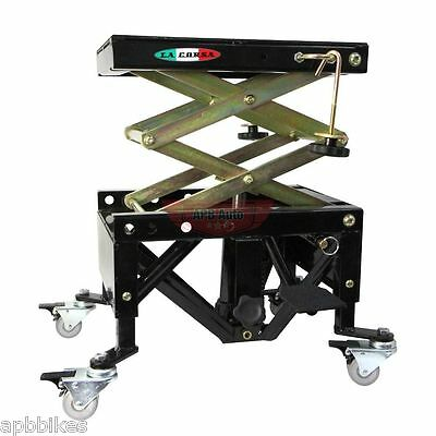 MOTORCYCLE HYDRAULIC SCISSOR LIFT STAND MOTORBIKE SCISSOR LIFT STAND 350lbs