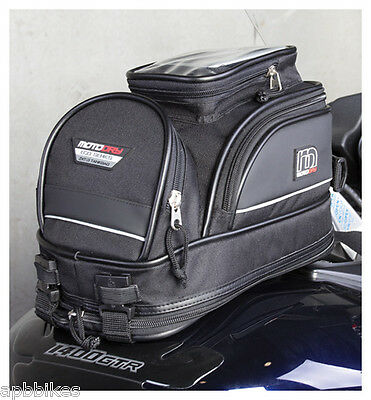 Motodry Moto Dry Motorcycle Tank Bag *zxt-3*  Waterproof 12L Mini Tank Bag Gps,