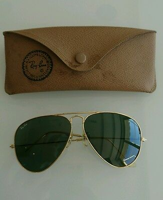 Ray Ban B&L Made in USA aviatore vintage sunglasses 58[]14