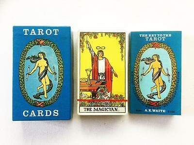 Rider Waite Tarot Deck AGMuller / The Key To The Tarot Book, 78 Card Deck Sealed