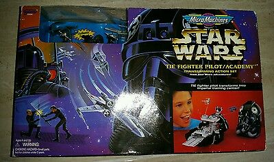 """Star Wars Micromachines """" THE FIGHTER PILOT / ACADEMY"""