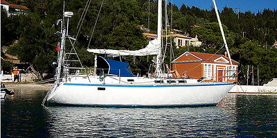 Sailing Yacht 37ft Boat 11.2m With VIDEOS Located CORFU Greece Marina Paid