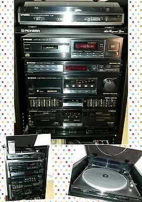 PIONEER HIFI STEREO CD DECK CASSETTE PD-Z71 RX-Z71L pl-z81 PLAYER TUNER RADIO