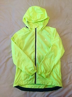 Kids Fluorescent Yellow Ronhill Jacket Age 7-8 £45 New