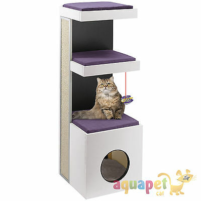 Ferplast Tiger Cat Furniture Scratcher - Purple