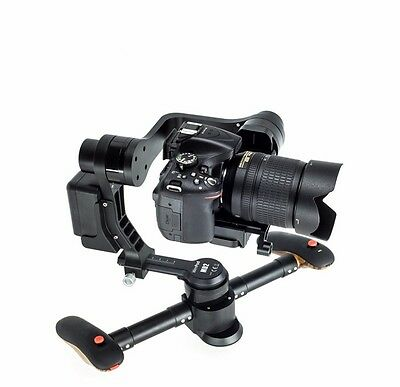 Wenpod MD2 black brushless handheld 3-axis gimbal compatible with DSLR cameras