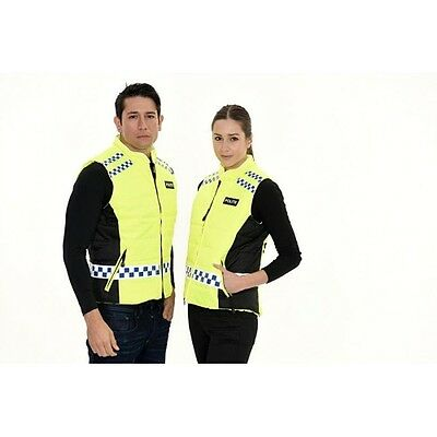 New 2014 Equisafety Polite Quilted Gilet Hi Viz Reflect Horse Ride Waterproof