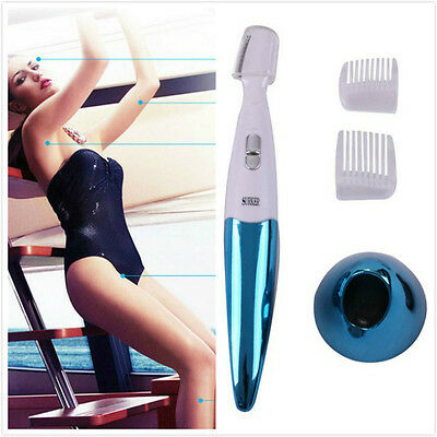 Lady Women Electric Shaver Bikini Face Legs Eyebrow Trimmer Hair Shaver Remover