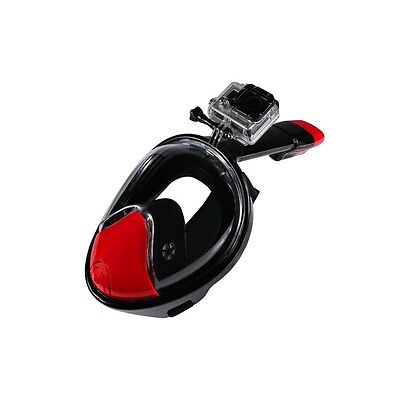 NEOpine Full Face Anti-fog Snorkle Diving Mask For GoPro 2nd Generation Medium